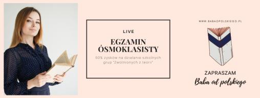 Baba od polskiego - live